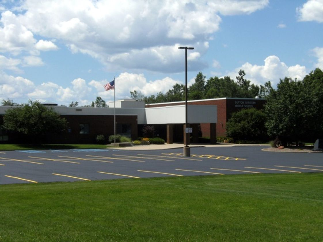 Dutton Christian School Photo - Dutton Christian Middle School is located at 6729 Hanna Lake SE, Caledonia, MI 49316. We are in Kent County and 20 minutes from downtown Grand Rapids.