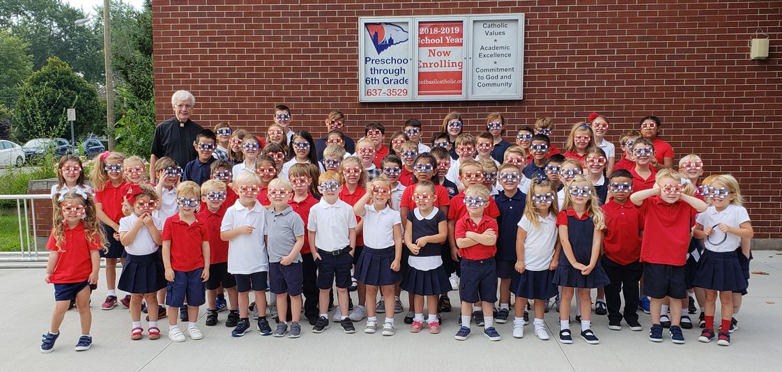 Saint Basil Catholic School Photo #1 - Faith, Knowledge, Service
