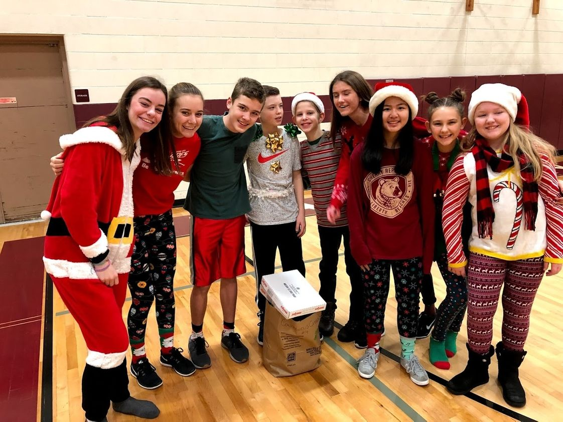 Traverse City Christian School Photo #1 - The annual Christmas Cruncher is a blast enjoyed by everyone at TC Christian on the last day of school before the Christmas break.
