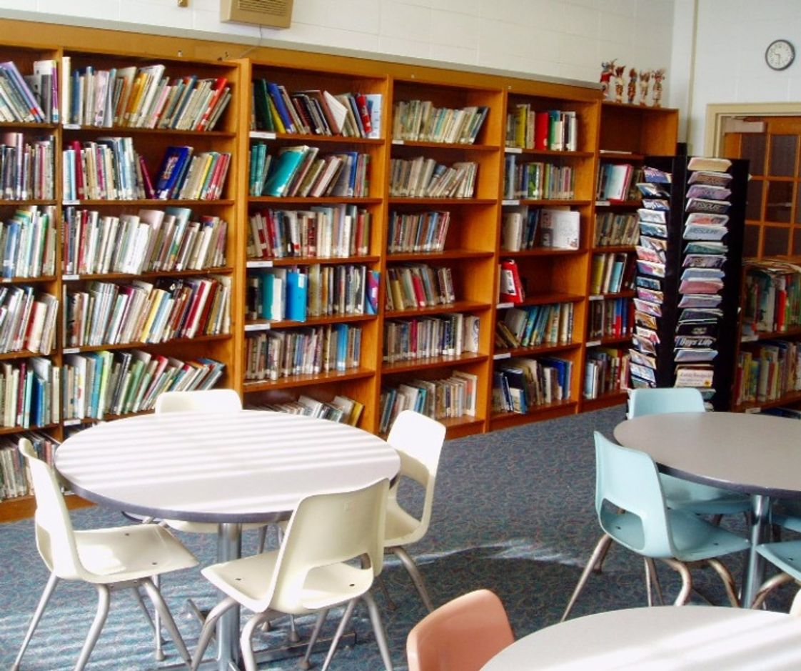 St James The Greater School Photo #1 - St. James has a spacious dedicated Library for reading, research, & study.