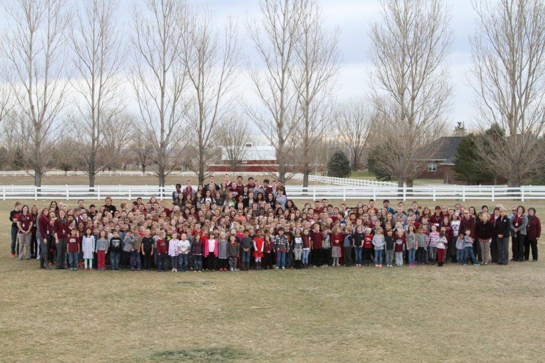 Billings Christian School Photo - All School Picture of the Billings Christian School Warriors 2015/16 school year
