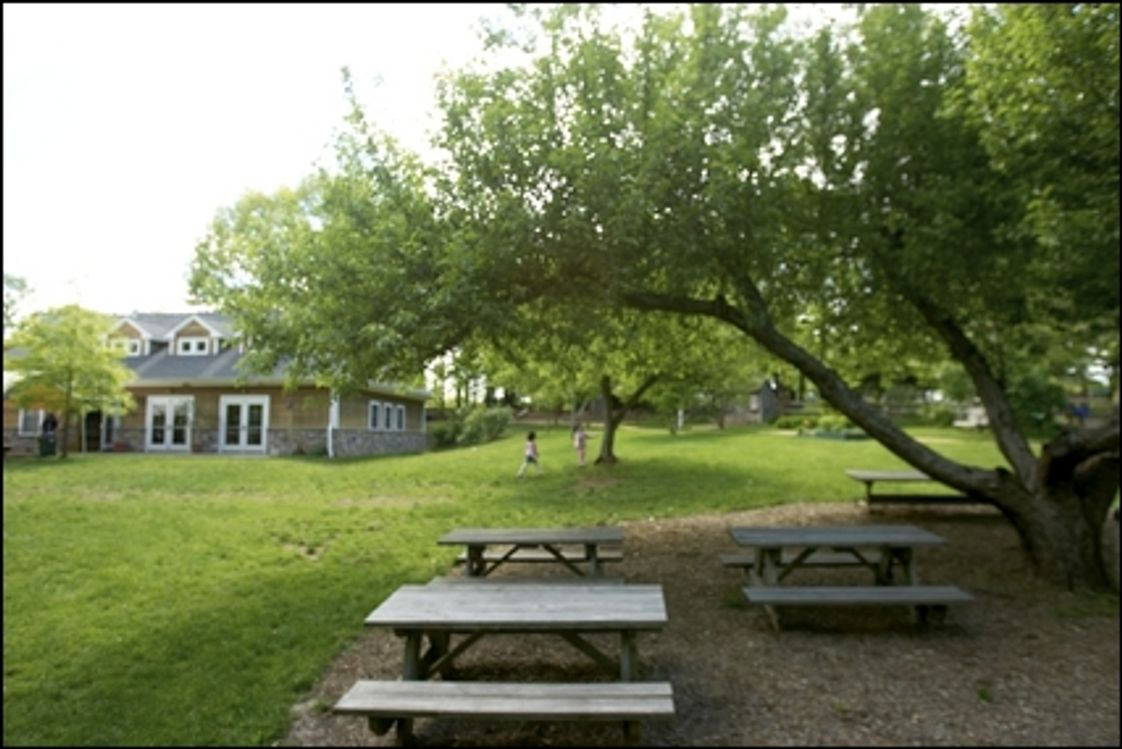 Acorn Montessori School Photo #1 - Acorn Montessori School's large campus in the heart of rural Hunterdon County, New Jersey gives students room to grow. As much education goes on outside as it does inside the classrooms. The campus consists of nine large classrooms, a goat barn, orchards, vegetable and flower gardens and three age appropriate playgrounds.