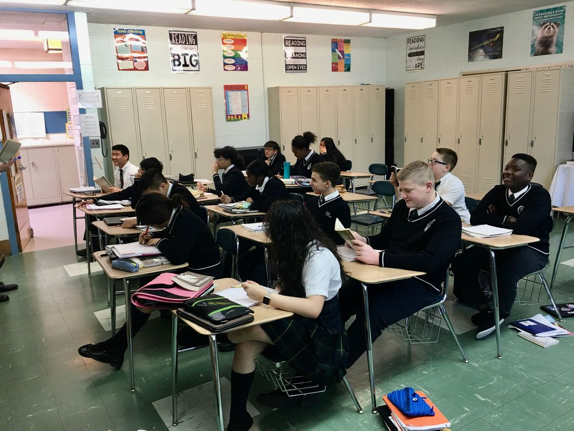 Academy Of St Therese Of Lisiuex Photo #1 - Our eighth grade students have a record of outstanding acceptance rate to the areas best Catholic, private and magnet schools in northeast New Jersey.