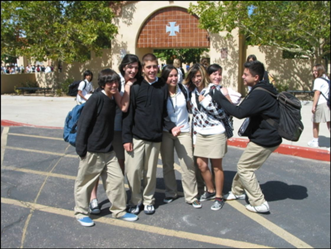 St Pius X High School Photo #1 - SPX students
