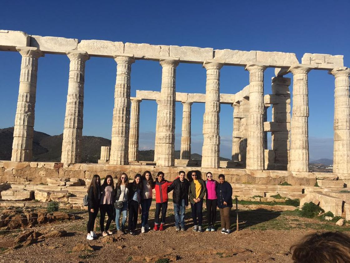 A Fantis School Photo - 8th Graders visit Greece as part of a multi-year cultural exchange program.