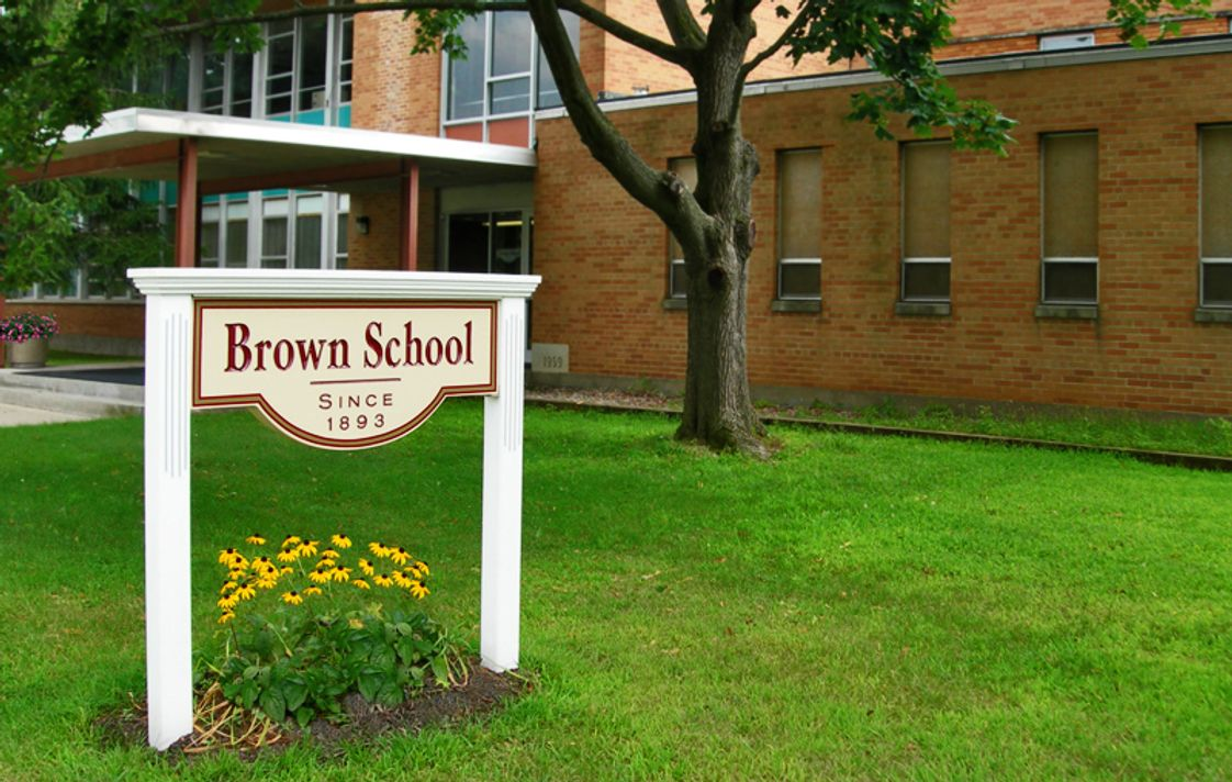 Brown School Photo - Welcome to Brown School, a co-ed, Independent school for grades N-8th. Founded in 1893, Brown's 200+ Students receive a strong and diverse education in mathematics, sciences, languages, literature, history, foreign language, liberal arts, fine arts, music, social-emotional learning, and more in a small class setting.