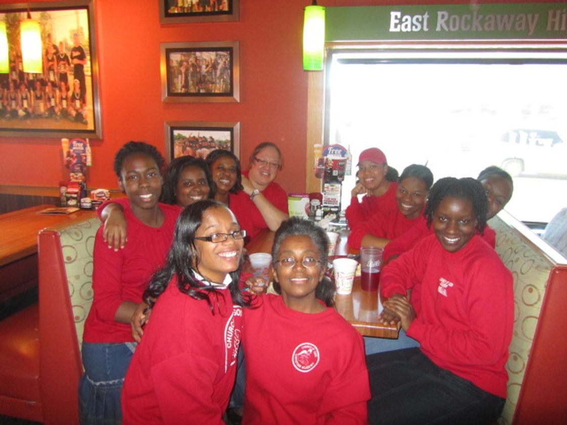 Church Of God Christian Academy Photo - Staff @ Applebees Fundraiser 2011