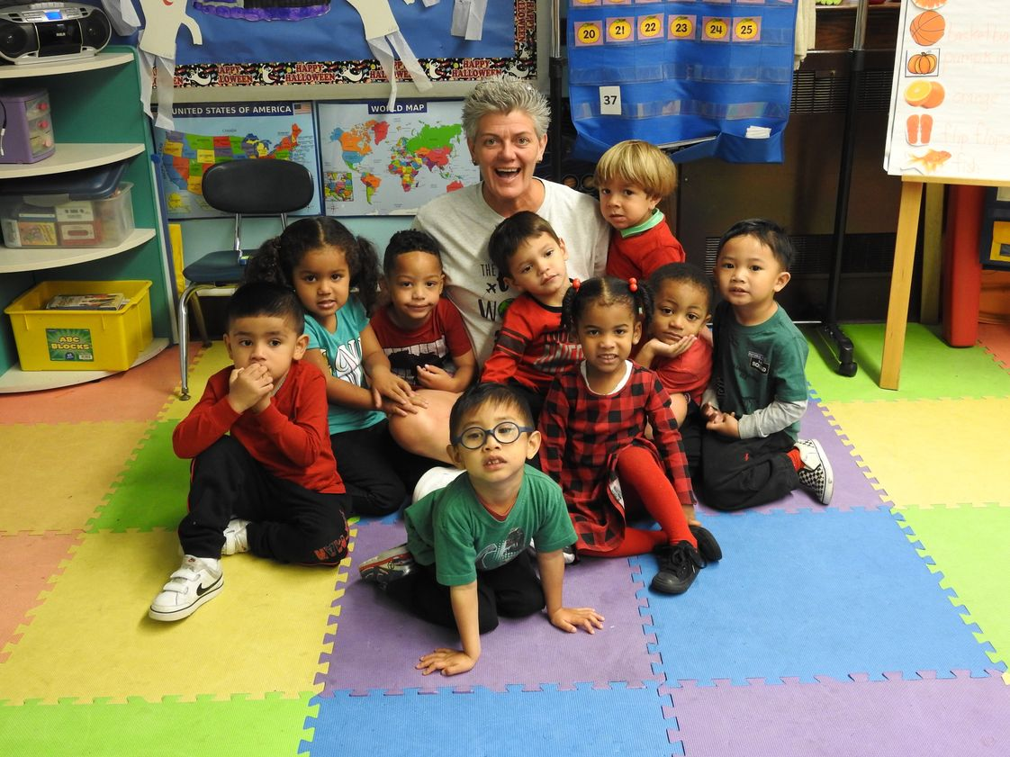 Immaculate Conception Catholic Academy Photo #1 - Principal Breen reads to our PreK-3 students!