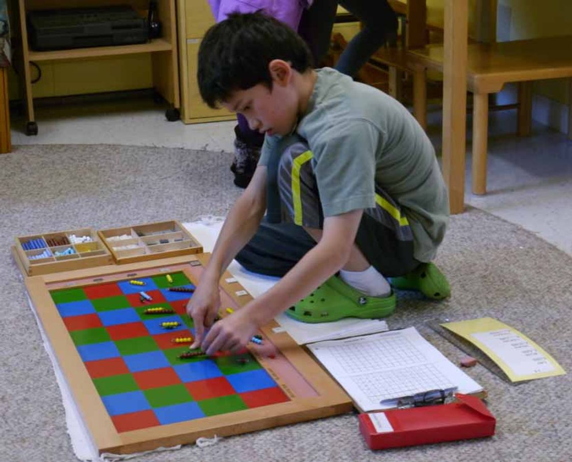 Montessori School Of Syracuse Photo #1 - Math