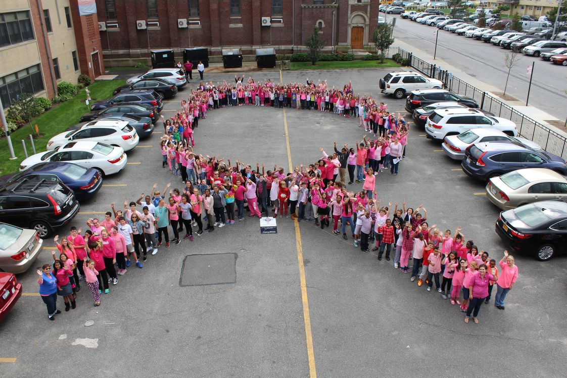 St. Rose Of Lima Catholic Academy Photo #1 - Pink Dress Down Fundraiser for Susan G Komen Foundation