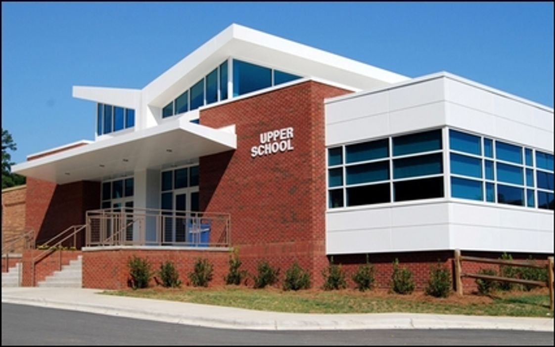 Charlotte Christian School Photo #1 - The new upper school building opened in August of 2007.