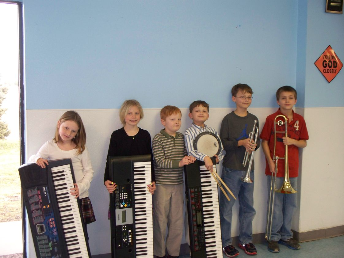 Mountain View Christian Academy Photo #1 - Elementary music students attend the Solo Festival.