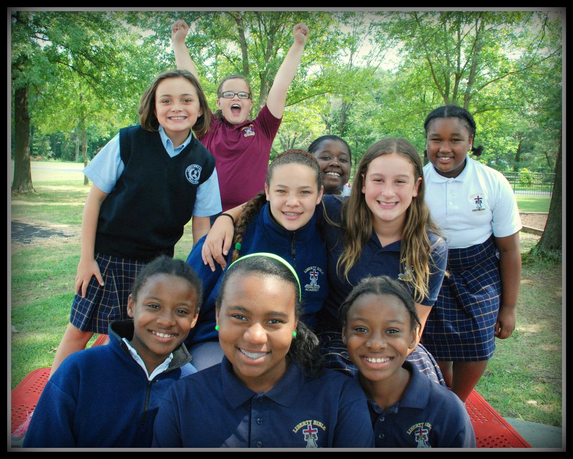 "Liberty Bible Academy Photo #1 - The LBA middle school experience provides a challenging and rigorous academic program that is balanced with opportunities for monthly social ""hangouts"" and service projects that lead to fun and personal fulfillment."