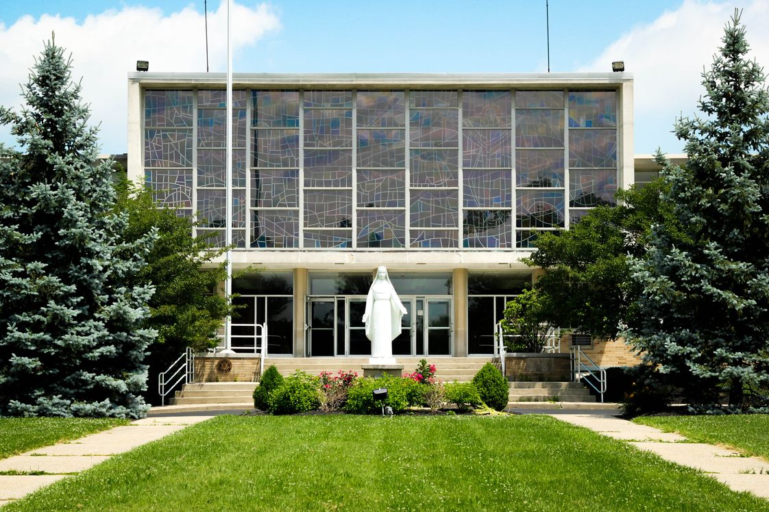 Mcauley High School Photo - McAuley High School is conveniently located in College Hill.