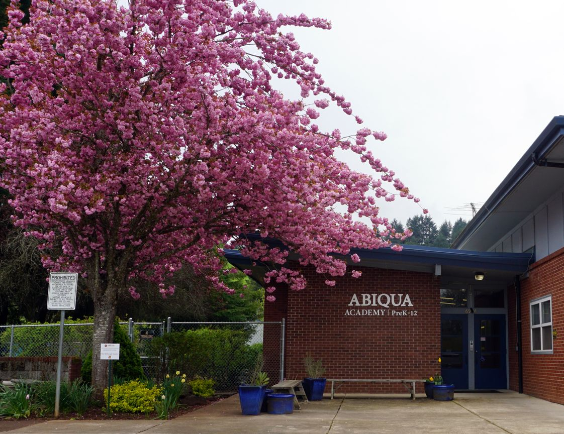 Abiqua Academy Photo - Abiqua Academy is located just south of Salem, in the countryside of the beautiful Willamette Valley.