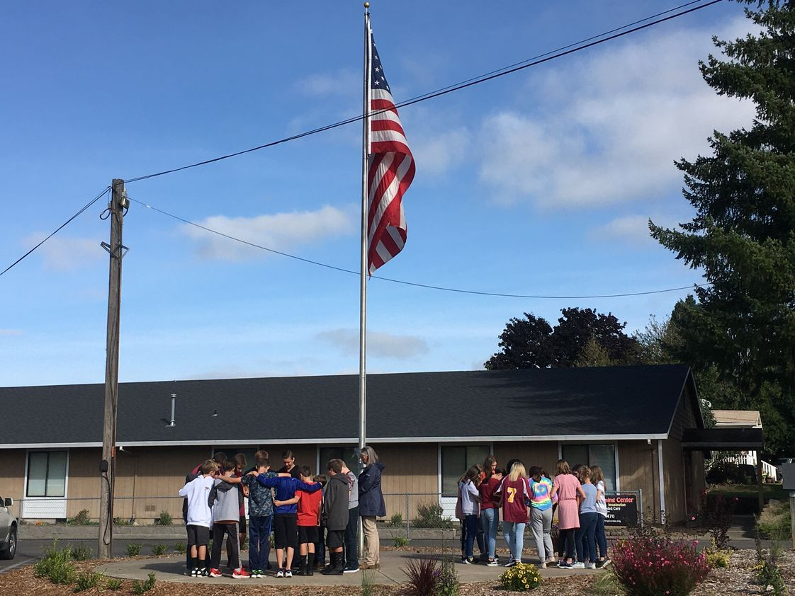 C.S. Lewis Academy Photo #1 - See You at the Pole 2019