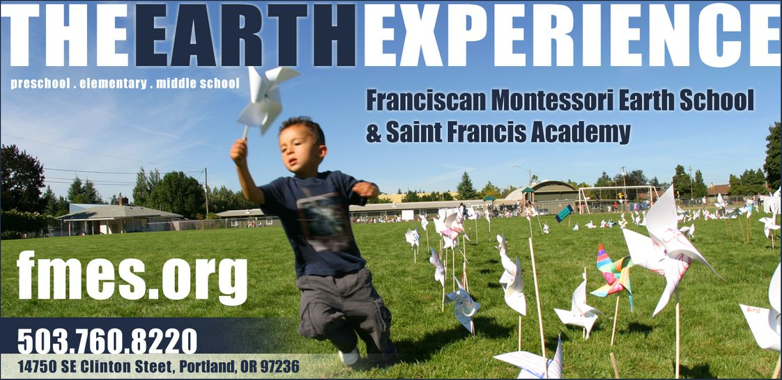 Franciscan Montessori Earth School Photo #1 - Peace Day at the Franciscan Montessori Earth School and St. Francis Academy featured 2000 pinwheels