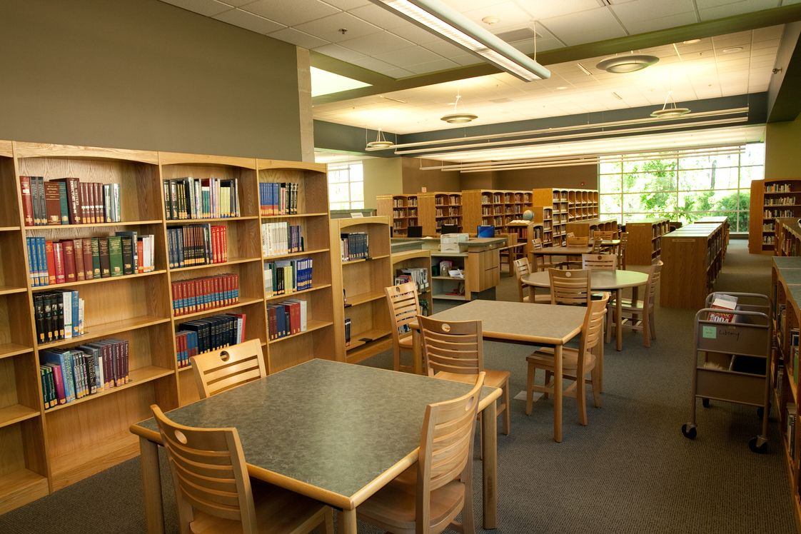 Dock Mennonite Academy Photo #1 - The Rosenberger Academic Center features state of the art facilities in science, family and consumer science, a robotics course, and a beautiful new library. Schedule your visit to Dock today!