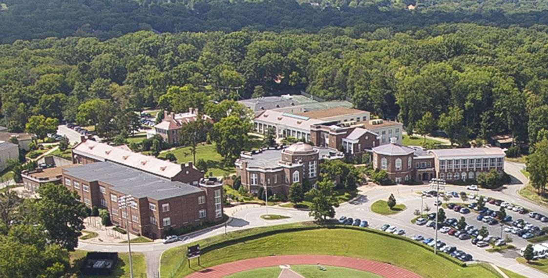 Harpeth Hall School Photo - Harpeth Hall sits on 44-plus acres in a residential neighborhood in Nashville, TN.