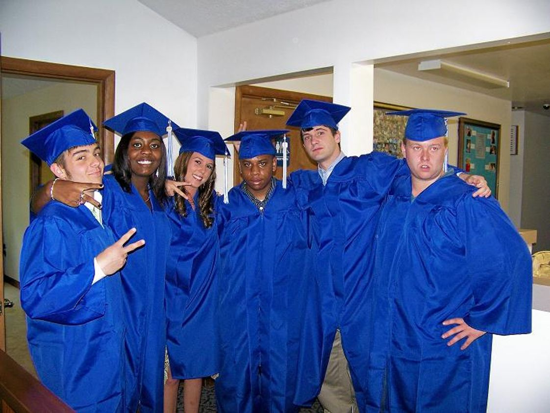 West End Academy Photo - Graduating class of 2007, 90% are in post secondary education