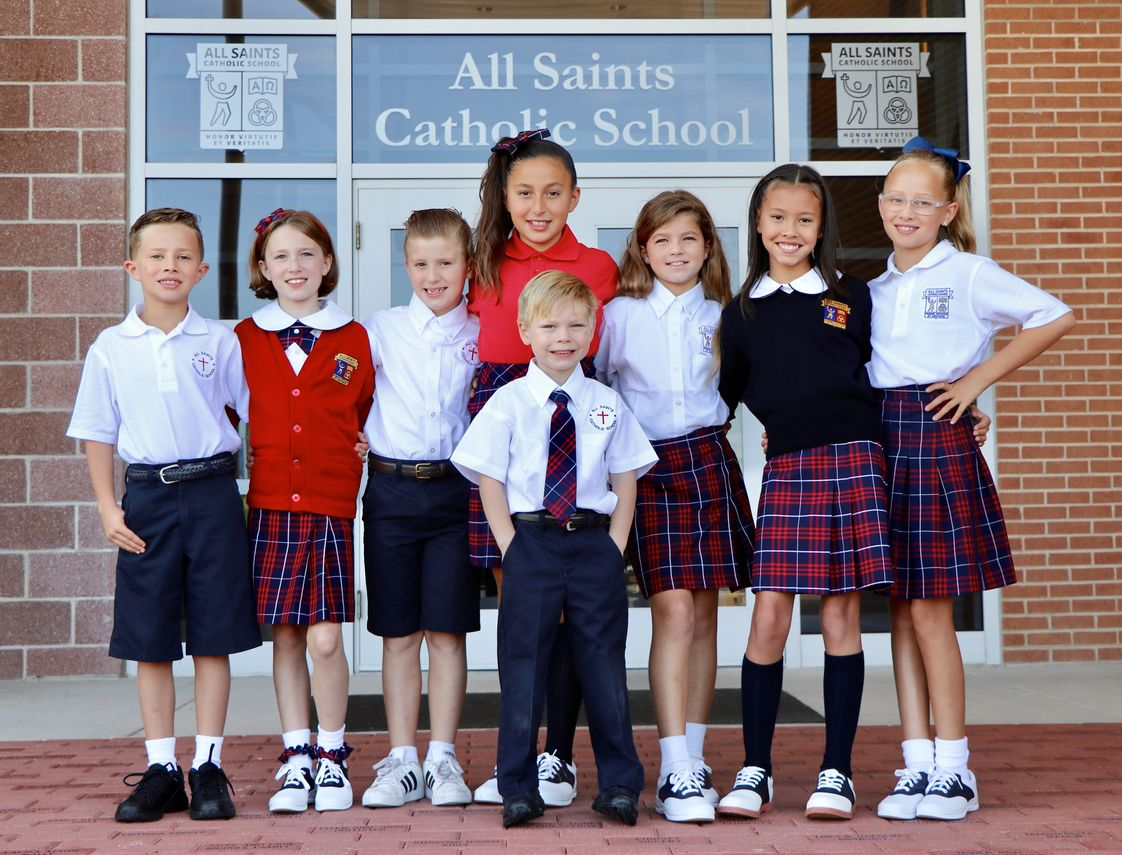All Saints Catholic School Photo #1 - All Saints Catholic School provides a faith-filled, nurturing environment and a rigorous academic program that prepares students to be critical thinkers who lead, serve, and inspire others.