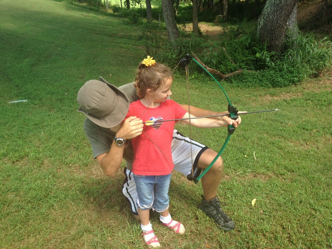Oakland School Photo - Archery is one of the most popular summer camp activities.