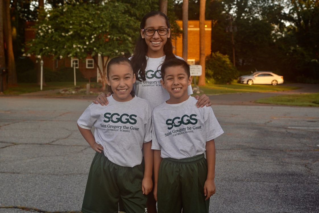 St. Gregory The Great School Photo #1 - Happy Students!