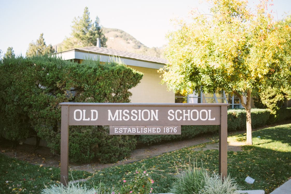Old Mission School Photo #1 - Welcome to Old Mission School