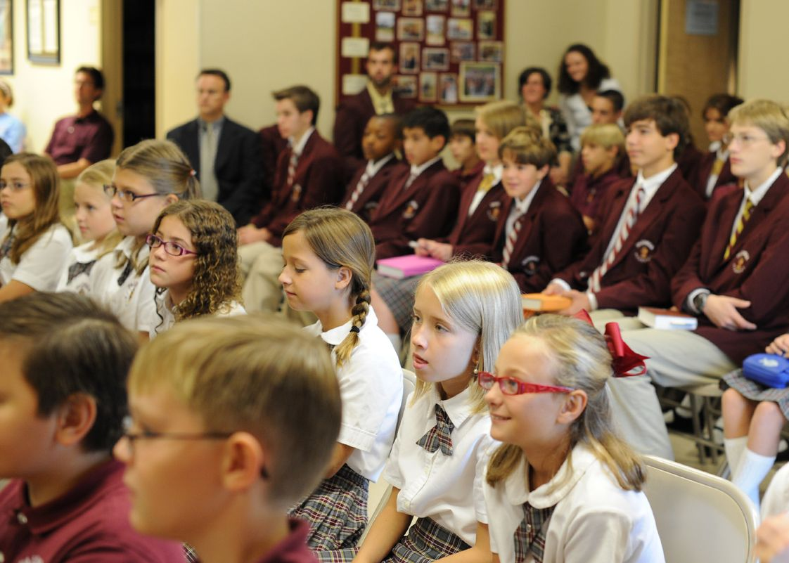 Paideia Academy Photo #1 - Paideia Academy l Classical Christian School Knoxville l Assembly