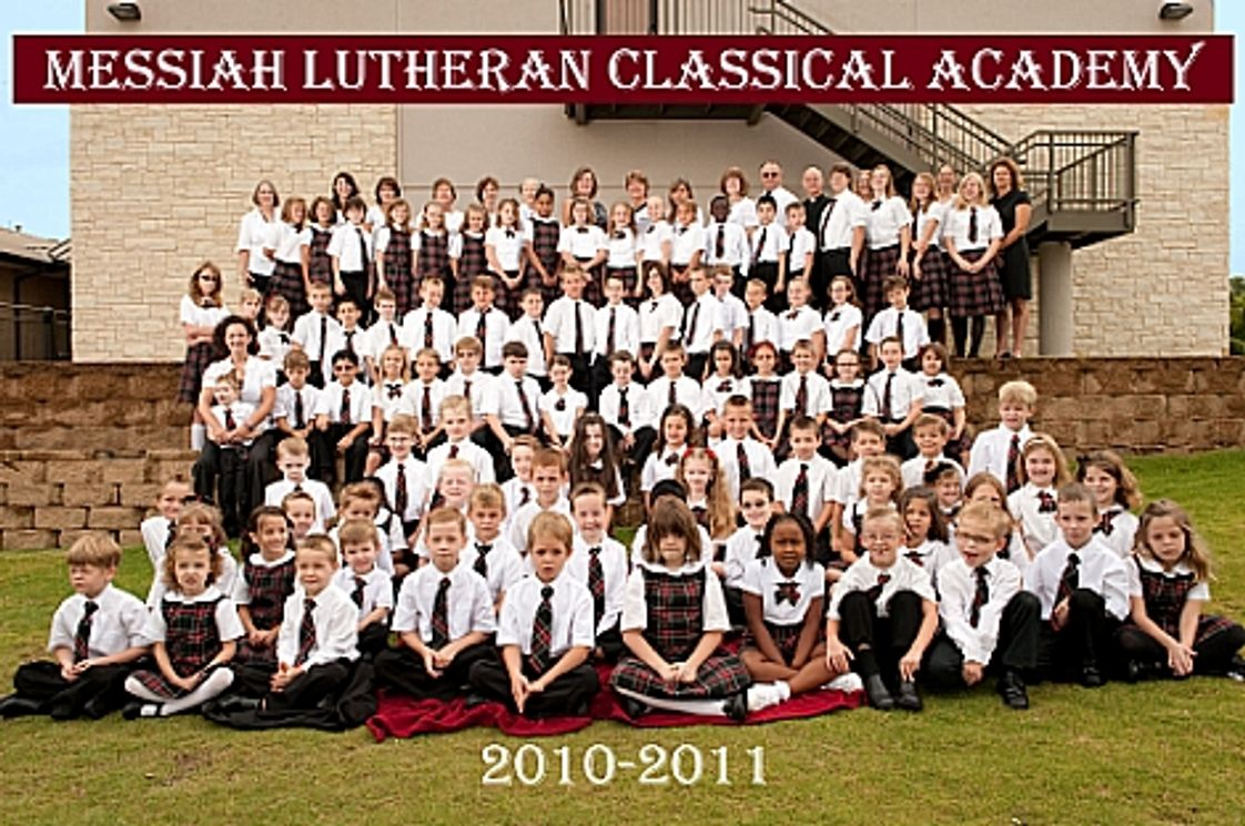 Messiah Lutheran Classical Academy Photo #1 - MLCA students 2010-2011