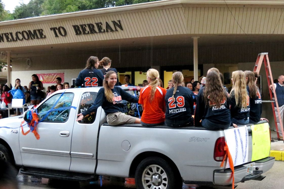 Berean Christian School Photo #1 - Meet the Teams Parade