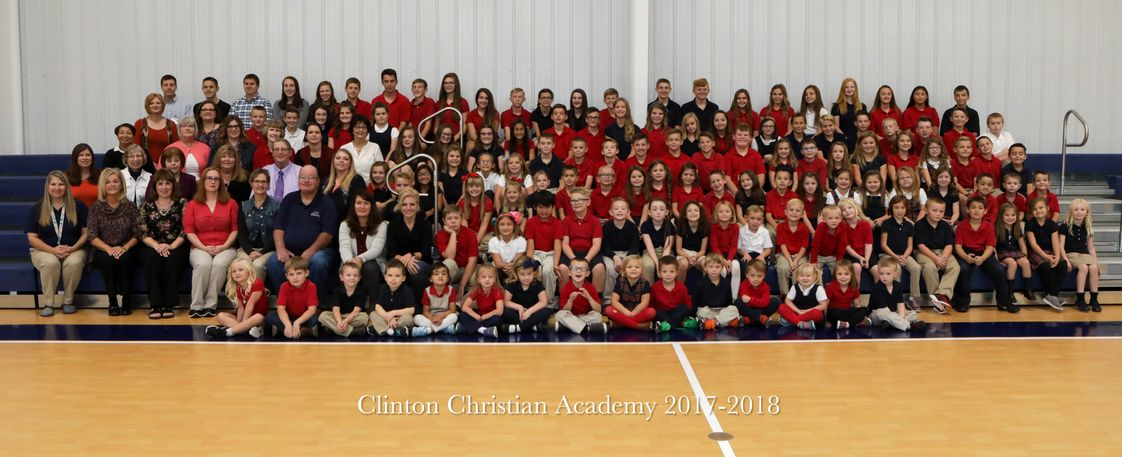 Clinton Christian Academy Photo #1 - Clinton Christian Academy All School Picture for 2017-18