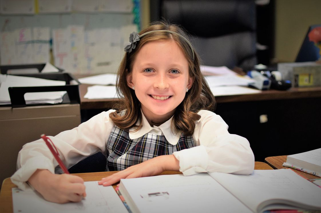 Greenville Classical Academy Photo - One of GCA's 4th grade students