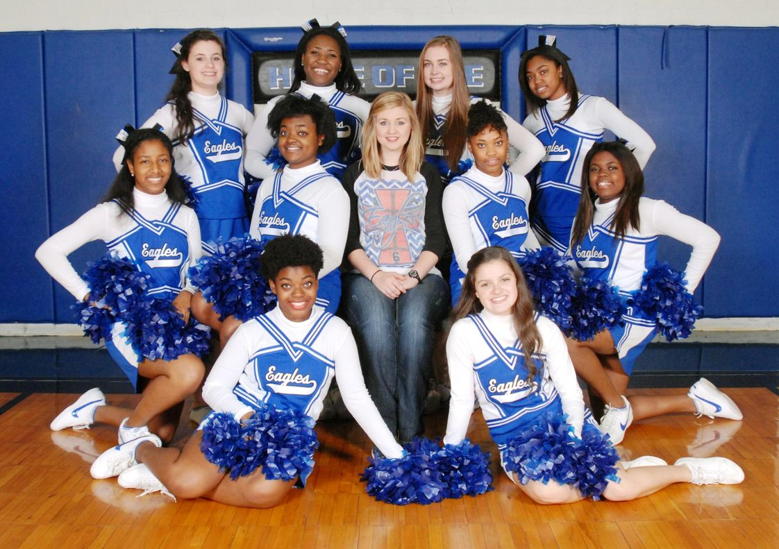 Jefferson Christian Academy Photo - 2014-2015 Eagles Cheerleaders