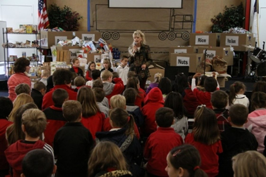 Grace Brethren Elementary Photo - Children's Hunger Fund Campaign