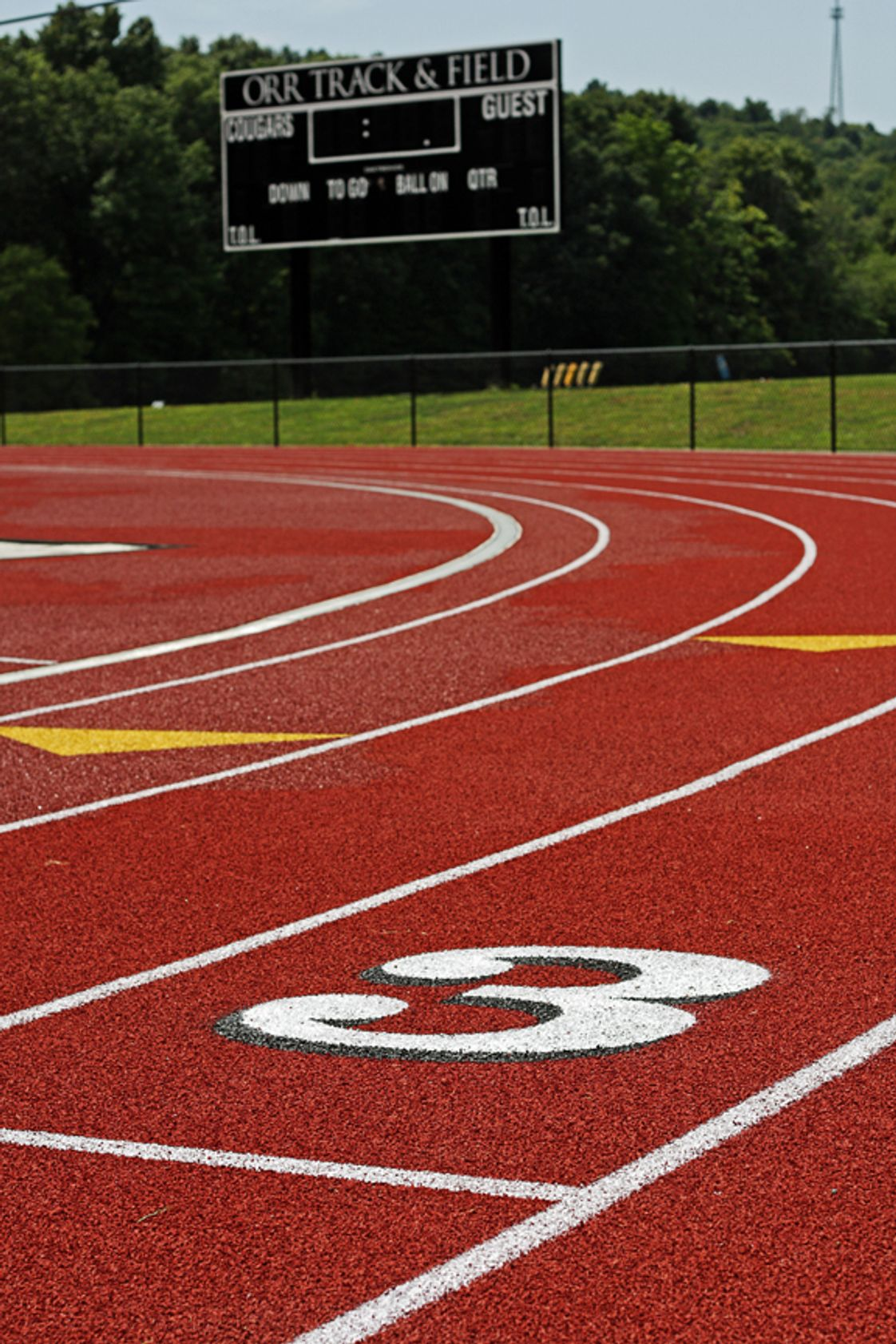 The Kiski School Photo #1 - State of the art track at Orr Track and Field
