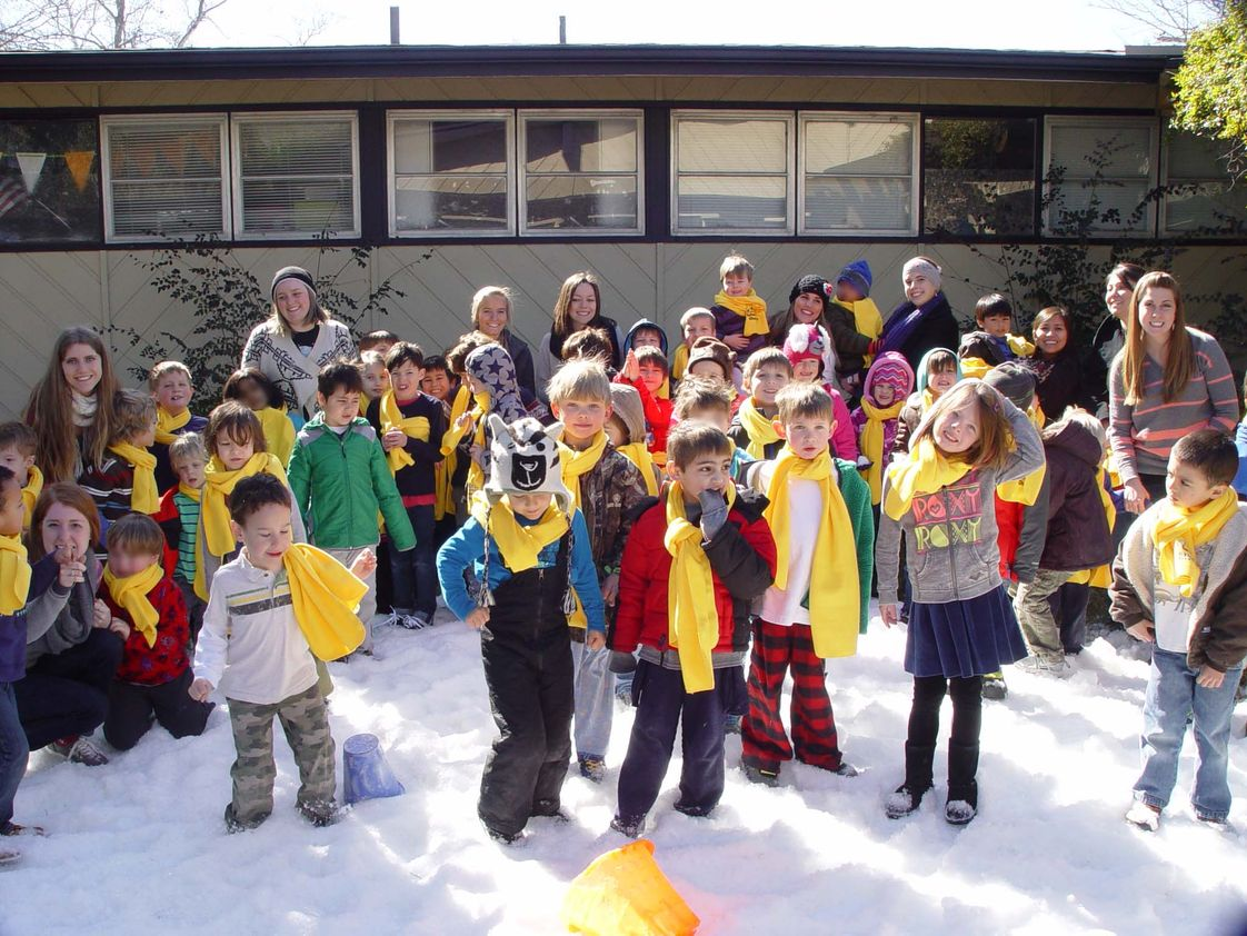 Capitol School Of Austin Photo #1 - Every year, Capitol School celebrates Snow Day, when a truck-load of snow is delivered to our front yard and students participate in a winter and snow-themed activities. This is a favorite for many of our students who have never seen real snow!