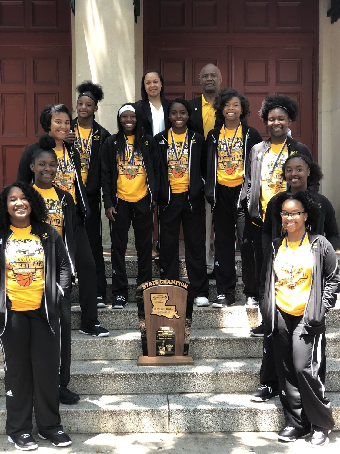 St. Katharine Drexel Preparatory School Photo - 2018 Basketball State Champions