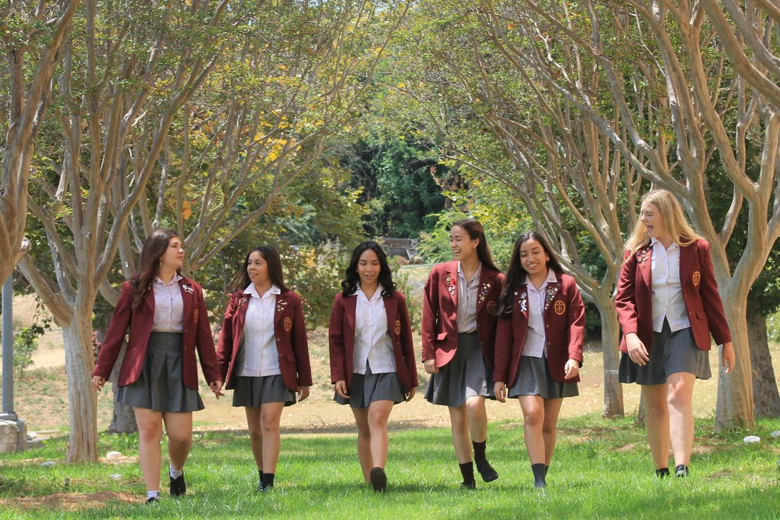 Ramona Convent Secondary School Photo #1 - Our 19+ acre campus is more like a college than a high school. Expansive facilities support a broad and engaging curriculum.
