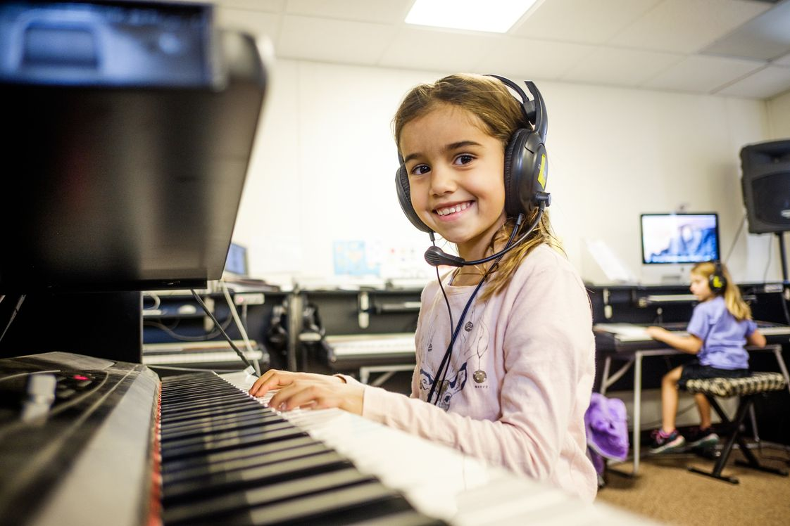 The Childrens School Photo - Our students love learning how to compose music in our Music Lab.