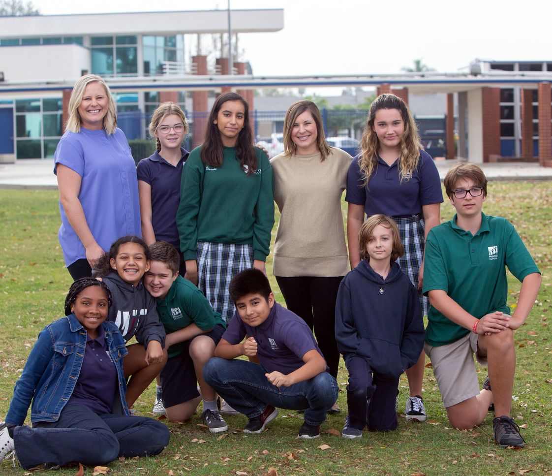 The Prentice School Photo - Our junior high program is focused on accommodated transition into the public setting. Our standard curriculum is aligned to common core standards. Additionally, students attend science, physical education and electives. Students experience class switching and are taught organizational skills, self advocacy, and are assisted with academic and career goals and identify the best educational moving into high school and beyond.