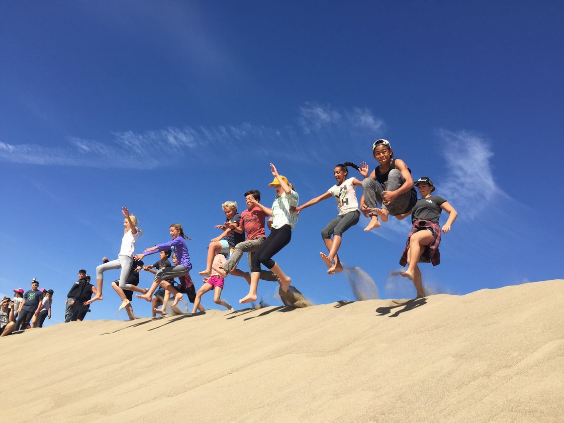 The Waldorf School Of Orange County Photo #1 - 6th Grade field trip to Death Valley