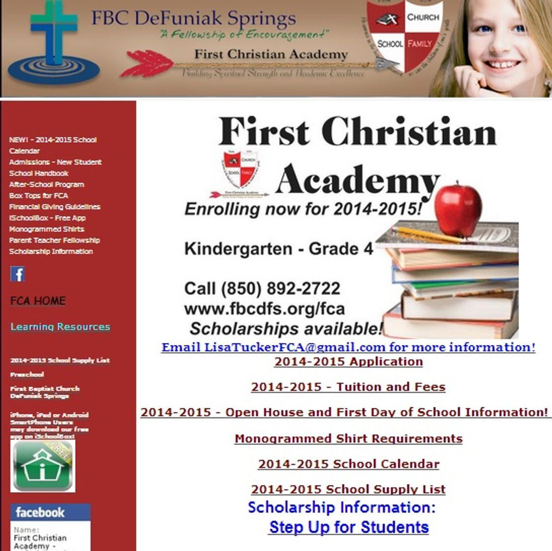 First Christian Academy Photo - First Christian Academy - DeFuniak Springs