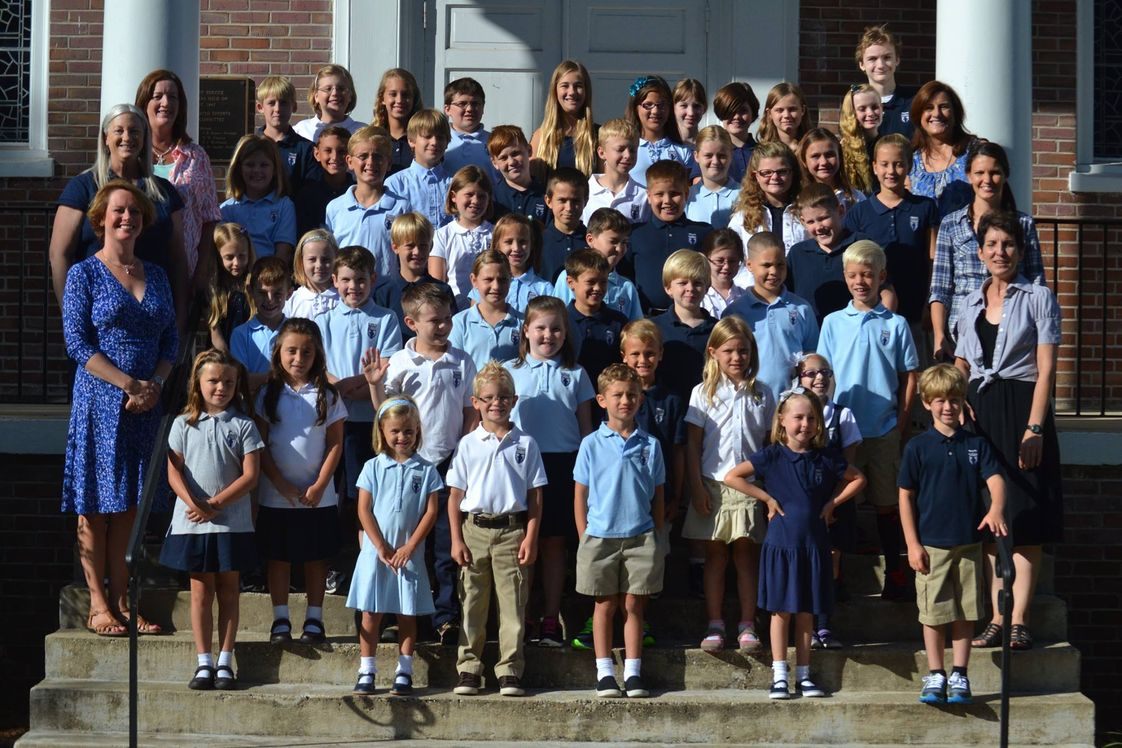 Trinity Classical Academy Photo #1 - Trinity Classical Academy on the steps of Bethany United Methodist Church