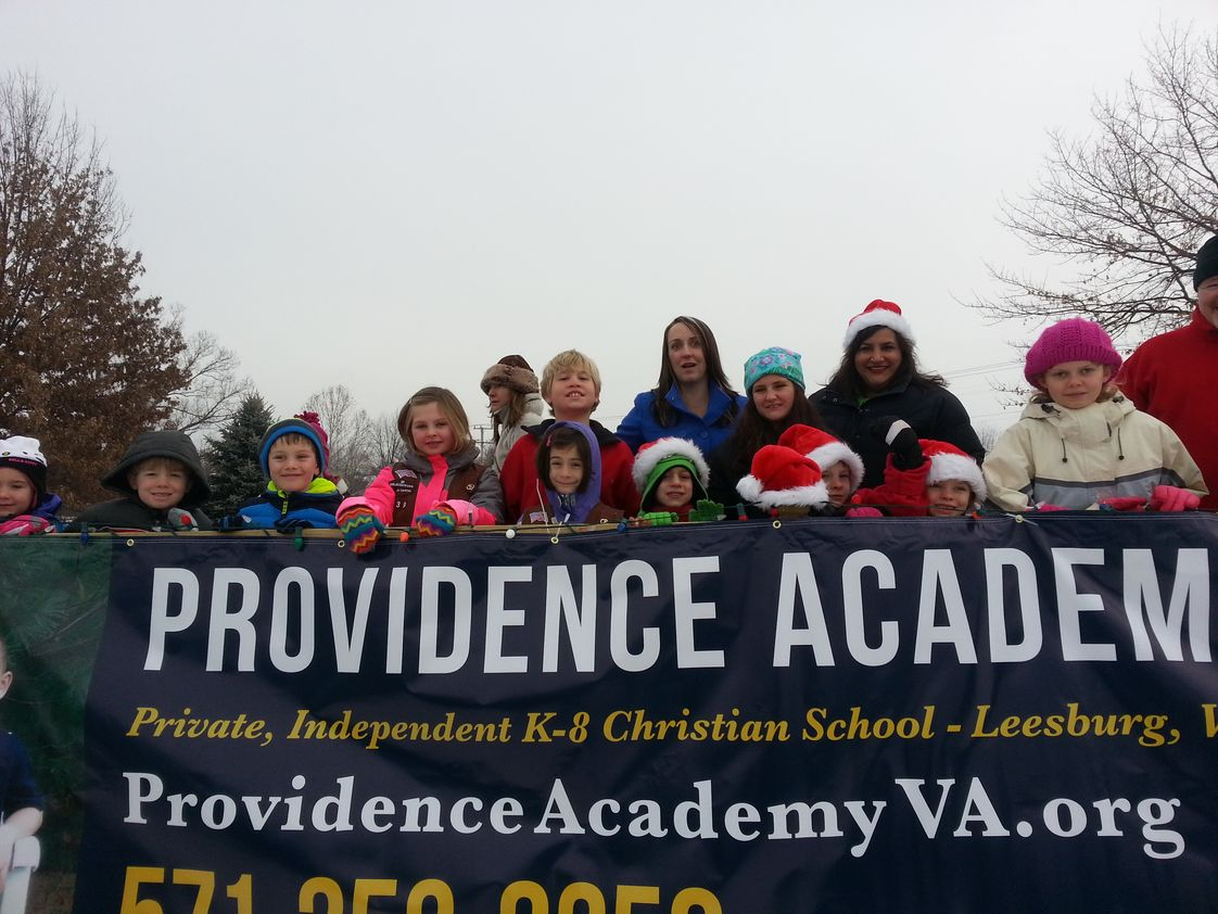 Providence Academy Photo #1 - Providence Academy students participate in a variety of community service activities throughout the school year.
