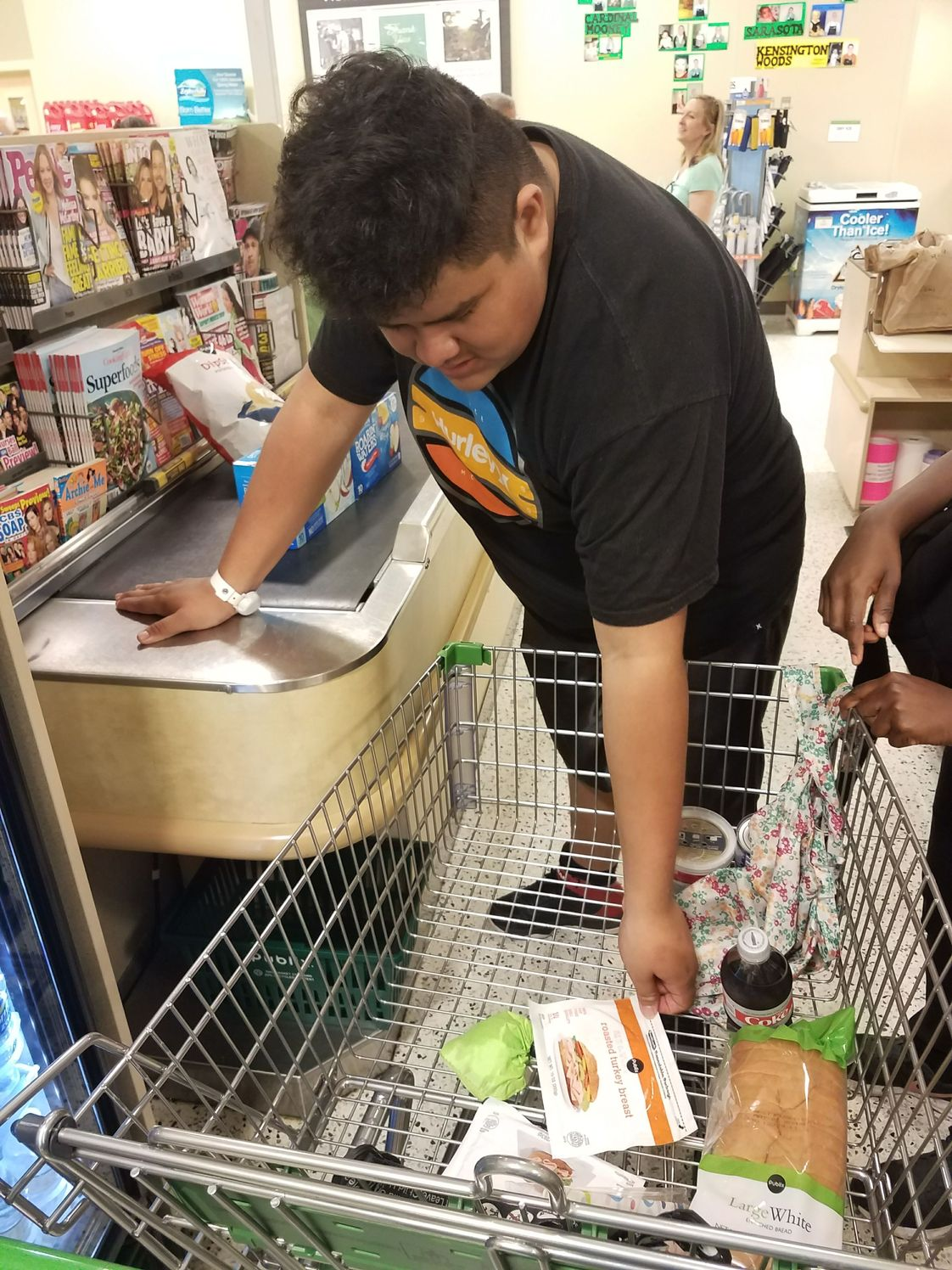 Beyond The Spectrum Education Center Photo #1 - Grocery store field trip to learn life skills!