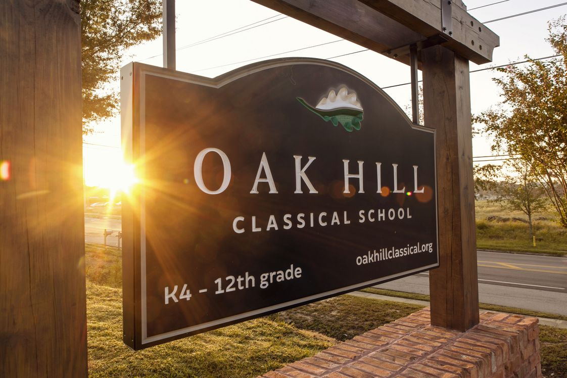 Oak Hill Classical School Photo - At Oak Hill we strive to provide an education that cultivates wisdom, joy and love for God and others in our students.