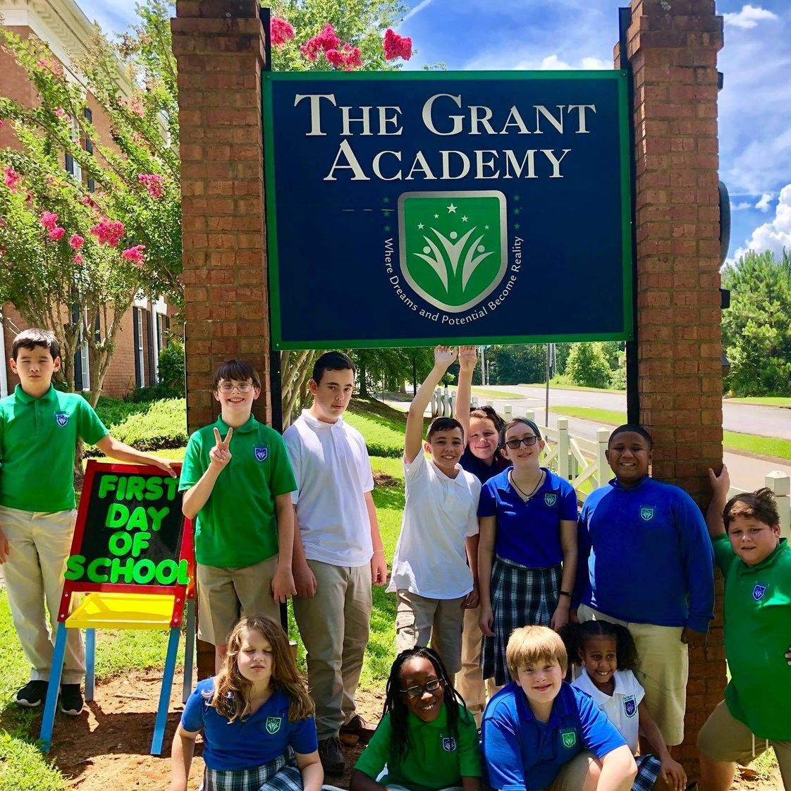 The Grant Academy Photo #1 - We are so blessed to have such a great group of students at The Grant Academy.