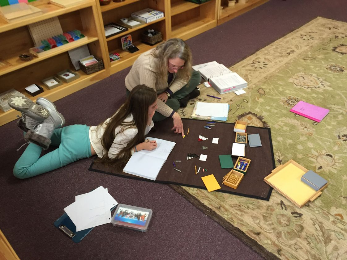 Montessori Pathways of New England Photo - Individualized education through lessons selected for each child's learning level. Progress is tracked on a weekly basis.