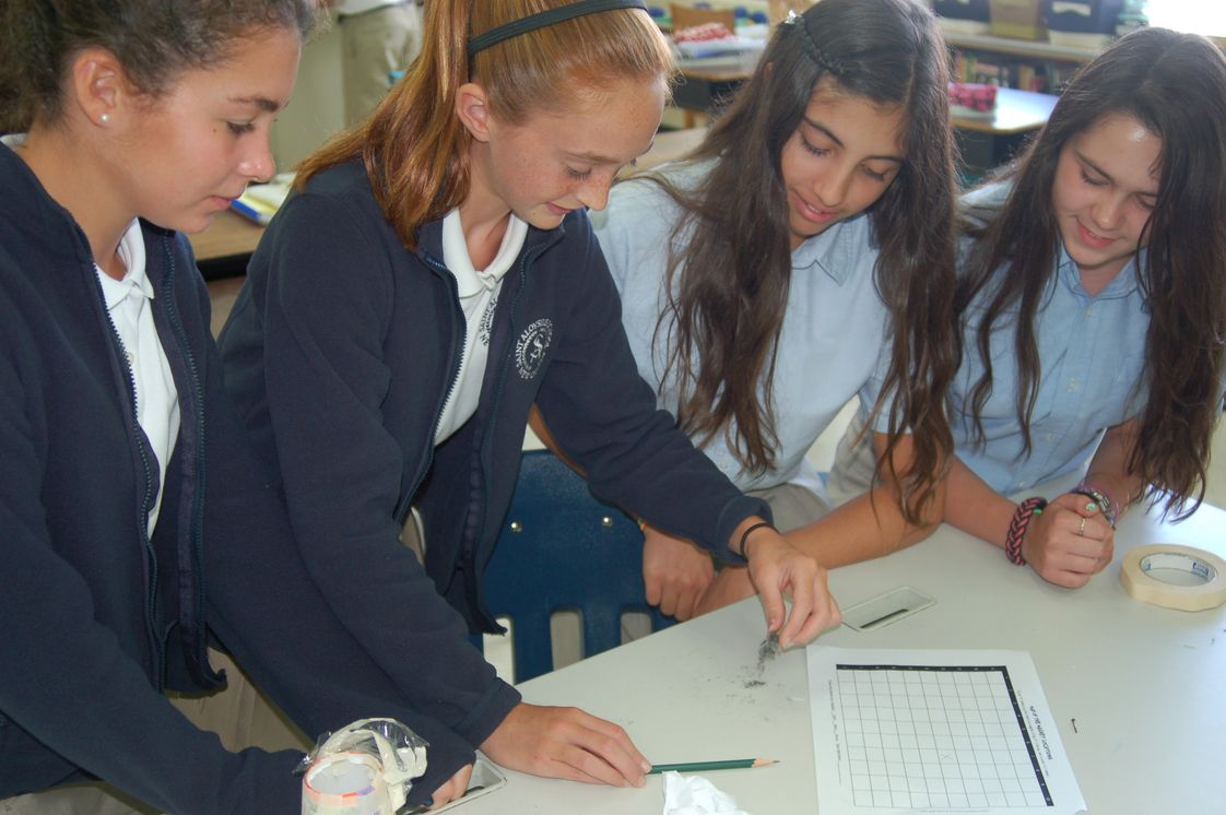 St. Aloysius School Photo #1 - STEM (science, technology, engineering, mathematics) project in the Upper School